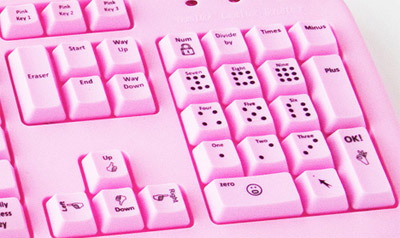 Keyboard for Blondes - Number Pad