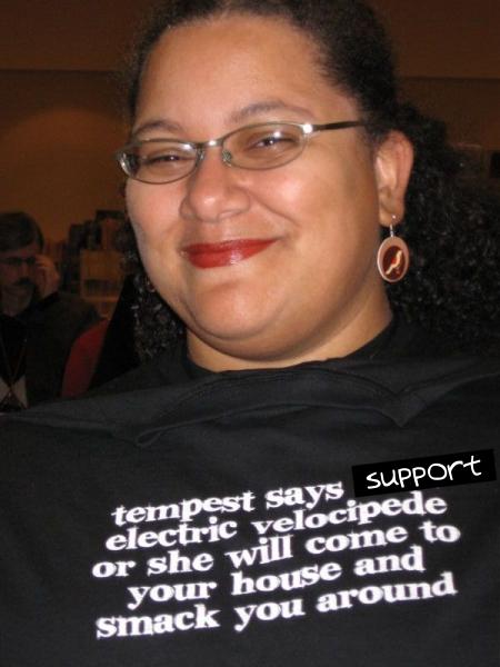 Support Electric Velocipede