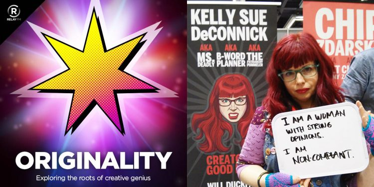 Originality 22: I Am Hugely Motivated by Spite with Kelly Sue DeConnick