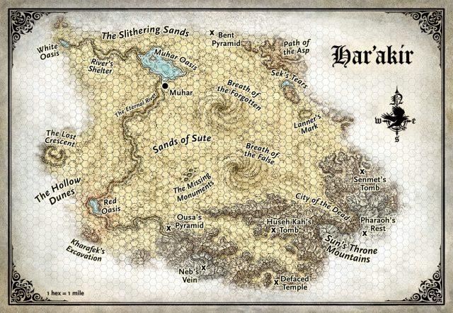 HarAkir Map