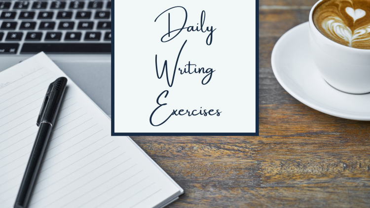 daily writing exercises header